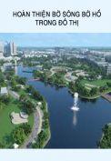 Hoàn thiện bờ sông bờ hồ trong đô thị