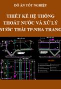 Đồ án tốt nghiệp - Thiết kế hệ thống thoát nước thành phố Nha Trang đến năm 2030