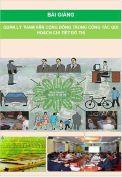 Bài giảng Quản lý tham vấn cộng đồng trong công tác qui hoạch chi tiết đô thị