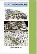 Bài giảng Thiết kế đô thị