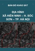 Bản đồ khảo sát địa hình xã Hiền Ninh – H. Sóc Sơn – Tp. Hà Nội – Tỷ lệ 1/5.000