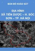 Bản đồ khảo sát địa hình xã Tiên Dược – H. Sóc Sơn – Tp. Hà Nội – Tỷ lệ 1/5.000