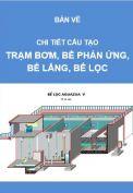 Hồ sơ thiết kế trạm xử lý cấp nước, công suất 18.000m3/ngđ