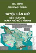 Điều chỉnh Quy hoạch chung Huyện Cần Giờ - TP. Hồ Chí Minh