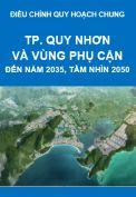 Điều chỉnh Quy hoạch chung Thành phố Quy Nhơn và vùng phụ cận đến năm 2035, tầm nhìn đến năm 2050