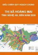 Điều chỉnh Quy hoạch chung Thị xã Hoàng Mai, tỉnh Nghệ An, đến năm 2030