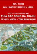 Điều chỉnh Quy hoạch phân khu – Khu A – Khu đô thị, thương mại phía Bắc sông Hà Thanh – thành phố Quy Nhơn