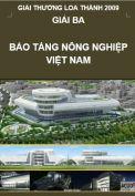 Giải Loa Thành 2009 – Giải ba – Bảo tàng Nông nghiệp Việt Nam