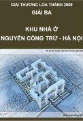 Giải Loa Thành 2009 – Giải ba – Khu nhà ở Nguyễn Công Trứ - Hà Nội