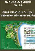 Giải Loa Thành 2009 – Giải ba – Quy hoạch chi tiết 1/2000 khu du lịch biển Bình Tiên, xã Công Hải, huyện Thuận Bắc, tỉnh Ninh Thuận