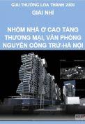 Giải Loa Thành 2009 – Giải nhì – Nhóm nhà ở cao tầng thương mại văn phòng Nguyễn Công Trứ - Hà Nội