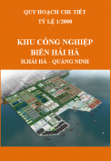 Hồ sơ quy hoạch chi tiết xây dựng Khu công nghiệp – cảng biển Hải Hà