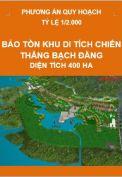 Phương án quy hoạch bảo tồn di tích chiến thắng Bạch Đằng 400 ha