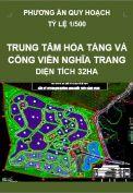 Phương án quy hoạch Khu trung tâm hỏa táng và công viên nghĩa trang, quy mô 32 ha
