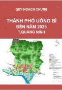 QHC-Điều chỉnh quy hoạch chung Thành phố Uông Bí đến năm 2025