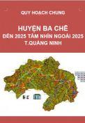 QHC-Huyện Ba Chẽ đến năm 2025 tầm nhìn ngoài 2025