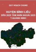 QHC-Huyện Bình Liêu đến năm 2025 và tầm nhìn ngoài 2025