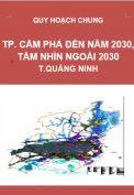 Quy hoạch chung Thành phố Cẩm Phả đến năm 2030 và tầm nhìn ngoài 2030