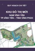 QHCT-Khu đô thị mới Nam Vĩnh Yên – Tp.Vĩnh Yên – Tỉnh Vĩnh Phúc