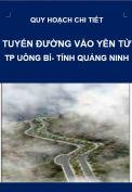 QHCT-Tuyến đường vào Yên Tử-Tp.Uông Bí-Tỉnh Quảng Ninh