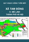 QHNTM-Xã Tam Đồng-H.Mê Linh-TP.Hà Nội