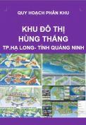 Quy hoạch phân khu Khu đô thị Hùng Thắng-Tp. Hạ Long-Tỉnh Quảng Ninh