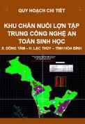 Quy chi tiết Khu chăn nuôi lợn tập trung công nghệ an toàn sinh hoạc – xã Đồng Tâm – huyện Lạc Thủy – tỉnh Hòa Bình