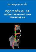 Quy hoạch chi tiết dọc hai bên đường QL1A tránh thành phố Vinh, tỉnh Nghệ An