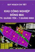 Quy hoạch chi tiết Khu công nghiệp Đông Mai – thị xã Quảng Yên – tỉnh Quảng Ninh