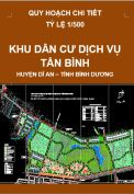 Quy hoạch chi tiết Khu dân cư dịch vụ Tân Bình – huyện Dĩ An – tỉnh Bình Dương