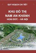 Quy hoạch chi tiết Khu đô thị mới Nam Anh Khánh – Hoài Đức – Hà Nội