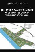 Quy Hoạch Chi Tiết Khu trung tâm Lý Thái Bửu-Xã Lý Nhơn,  Huyện Cần Giờ - Tp. Hồ Chí Minh