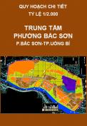 Quy hoạch chi tiết Khu trung tâm phường Bắc Sơn