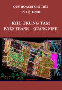 Quy hoạch chi tiết Khu trung tâm phường Yên Thanh