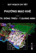 Quy hoạch chi tiết phường Mạo Khê – thị xã Đông Triều – tỉnh Quảng Ninh
