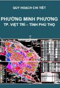 Quy hoạch chi tiết phường Minh Phương – Tp. Việt Trì – T. Phú Thọ