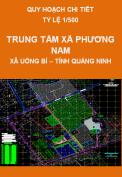 Quy hoạch chi tiết Trung tâm phường Phương Nam