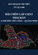 Quy hoạch chi tiết Xây dựng bãi chôn lấp chất thải rắn tại Khe Giang