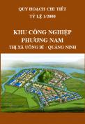 Quy hoạch chi tiết xây dựng tỷ lệ 1/2000 Khu công nghiệp Phương Nam