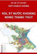 Quy hoạch chung khu du lịch sinh thái nước khoáng nóng Thanh Thủy-Huyện Thanh Thủy-Tỉnh Phú Thọ