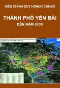 Quy hoạch chung thành phố Thành phố Yên Bái, đến năm 2030