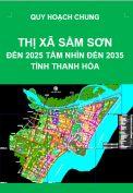 Quy hoạch chung thị xã Sầm Sơn đến năm 2025, tầm nhìn đến 2035 – tỉnh Thanh Hóa