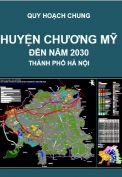 Quy hoạch chung xây dựng huyện Chương Mỹ – thành phố Hà Nội đến năm 2030