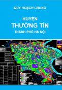 Quy hoạch chung xây dựng huyện Thường Tín đến năm 2030 – thành phố Hà Nội