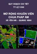 Quy hoạch chi tiết khuôn viên chùa Pháp Âm