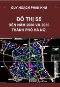 Quy hoạch phân khu đô thị S5 – tỷ lệ 1/5.000 – Hà Nội
