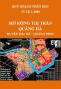 Quy hoạch phân khu Mở rộng thị trấn Quảng Hà giai đoạn 2012-2020