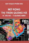 Quy hoạch phân khu Mở rộng thị trấn Quảng hà – huyện Hải Hà – tỉnh Quảng Ninh