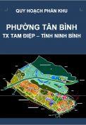 Quy hoạch phân khu phường Tân Bình – tỷ lệ 1/2.000-thị xã Tam Điệp – tỉnh Ninh Bình