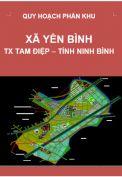 Quy hoạch phân khu xã Yên Bình – tỷ lệ 1/2.000-thị xã Tam Điệp – tỉnh Ninh Bình